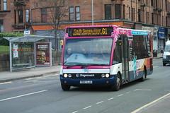 47462 FX07LJA (Wee G 1&2 Branded) (G1 - South Glasgow Hosp) (AMcC1970) Tags: g wee stagecoach