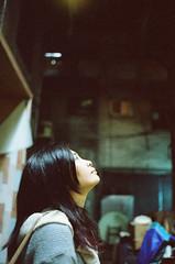 (Mr.Sai) Tags: portrait film girl k analog 35mm nikon kodak taiwan f2 nikkor fm2  cinefilm 5219  nonai   500t