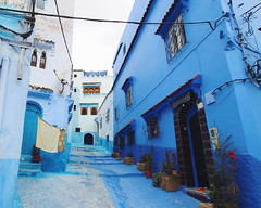 City of Blues (rita.wang27) Tags: city blue houses buildings paint morocco chefchaouen
