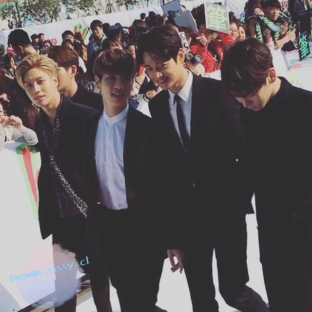 160328 ‎SHINee @ '23rd East Billboard Music Awards' 26059142431_46079e2591_z
