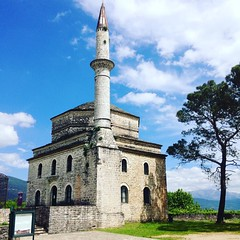 Mosque (Hecuba's Story) Tags: square greece squareformat clarendon ioannina giannina iphoneography instagramapp uploaded:by=instagram