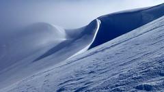 Magic Lines / Lineas Mgicas (Pjaro Post) Tags: chile patagonia nieve casablanca texturas bluelight esqu volcn esqudetravesa