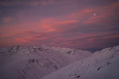 Furkapass_sunrise.jpg (jan.remund) Tags: moon sunrise mond wolken wallis uri skitour furka