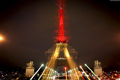 Copyright  Arnaud PAVIC 2016 - Tous Droits Rservs (arnaud.p86) Tags: light paris france tower monument tour belgium belgique eiffel hommage trocadero