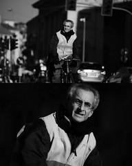 [La Mia Citt][Pedala] (Urca) Tags: portrait blackandwhite bw bike bicycle italia milano bn ciclista biancoenero mir bicicletta 2015 bwbw pedalare dittico nikondigitale ritrattostradale 822101