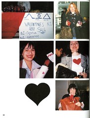 Happy Valentine's Day 1995 (Hunter College Archives) Tags: flowers students hearts events yearbook social event hunter 1995 valentinesday activities huntercollege socialevents studentactivities wistarion studentlifestyles thewistarion