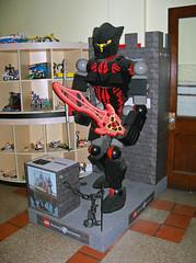 OH Bellaire - Toy & Plastic Brick Museum 60 (scottamus) Tags: ohio sculpture statue lego display roadside bellaire attraction belmontcounty toyplasticbrickmuseum