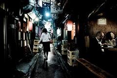 Tokyo (Eug3nio) Tags: street woman rain japan night tokyo shinjuku asia