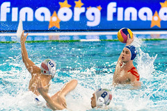 FINA Men's Water polo Olympic Games Qualifications Tournament 2016 - Trieste (ITA) (fina1908) Tags: blue italy men fina ita trieste waterpolo olympicgames qualification 2016 pallanuoto tournament2016 2frauenfelderned