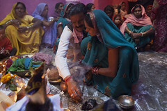 Gaura-Gauri Pooja Ceremony (wietsej) Tags: india zeiss sony ceremony pooja hindu 1635 chhattisgarh a900 kawardha sal1635z gauragauri