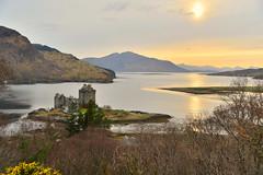 Eilean Donan castle (pentlandpirate) Tags: castle scotland highlands eilean donan