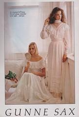 Gunne Sax 1981 (moogirl2) Tags: prom 1981 gunnesax vintageads 80sfashion vintageprom