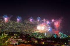 Happy New Year 2015 (caropho) Tags: new eve port fireworks years madeira neujahr funchal feuerwerk