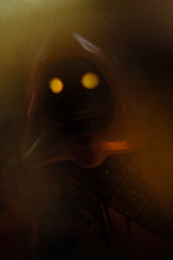 a portrait of jawa (jooka5000) Tags: portrait macro art canon photography starwars lego shady jawa tatooine likeapainting toyphotography