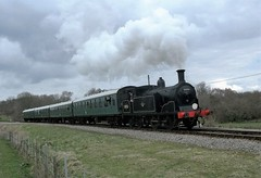 Swanage Railway Spring Steam Gala 2016 (Dave C1) Tags: spring railway steam gala swanage manston 2016 80104 4247 30053 34070