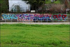 Bas / Cos / Zonk / Dep (Alex Ellison) Tags: urban graffiti boobs railway depot graff ac dep bas gs cos cosa trackside depo dds zonk allcity northwestlondon gullyside