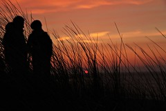 Nieuwvliet (Karl Van Loo) Tags: sunset sun zonsondergang nederland zee nieuwvliet