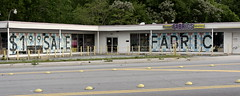 Discount Fabrics (micro.burst) Tags: atlanta urban georgia storefronts dekalbcounty pentaxk3 camerautility5