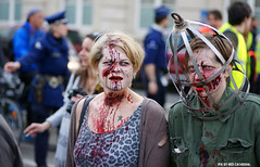 ZomBIFFF Day (Red Cathedral is alive) Tags: brussels blood cosplay o zombie sony bruxelles eerie gore horror undead grime alpha zombies oo brussel larp livingdead blooddonor redcathedral rhesus bifff zombiewalk warandepark zombieparade a850 thewalkingdead a parcroyal eventcoverage sonyalpha aztektv zombieolympics zombifff
