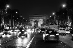 Do you call this an arc or an arch {Explored} (twinsfan7777) Tags: street longexposure travel paris france tourism architecture night champselysees europe arch arc streetphotography tourist arcdetriomphe canoneosrebelt2i sigmadc1750mmf28