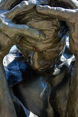 Burghers of Calais closeup (nydavid1234) Tags: portrait sculpture philadelphia statue closeup bronze sadness nikon sorrow rodin burghersofcalais rodinmuseum d600 nydavid1234