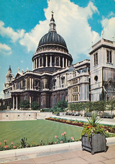 Ansichtkaart St. Paul's Cathedral London (dickjan thuis) Tags: london architecture postcard stpaulscathedral londen postkarte ansichtkaart