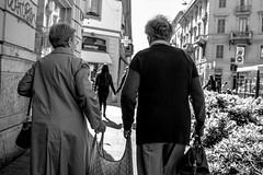Old Age - Street (Alessandro Perazzoli) Tags: street old italy milan canon milano age