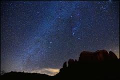 Sedona 2013 shooting star galaxy (Dave Kehs) Tags: dave canon way sedona astro 7d milky kehs bingham shootingstar