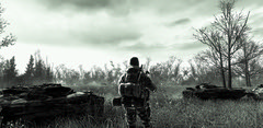 Aftermath (never047) Tags: game monochrome modern call duty fps warfare