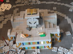 "Reading spot (Deus ""Big D."" Otiosus) Tags: urban skeleton dragon lego time library dragons dungeon adventure dd exploration skeletal dungeons dnd gladiator urbex moc at"