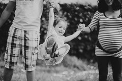 I believe I can flyyyy :D (Amlie Roy) Tags: family blackandwhite bw cute love girl beautiful smile canon children happy kid spring photographer dof child bokeh pregnancy happiness maternity laugh laughs childportrait canonphotography familyshooting
