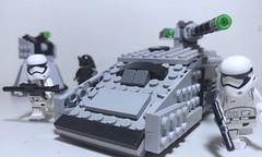 FIRST ORDER TANK (Amazing Lego Productions) Tags: tank stormtroopers firstorder legocustom starwarstheforceawakens