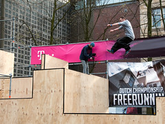 2016_April_freerun1-1654 (jonhaywooduk) Tags: urban sports netherlands amsterdam jump kick air spin platform teenagers free twist running runners athletes flick mid parkour