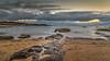 Stepping Stones (BlueberryAsh) Tags: holiday seascape beach clouds sunrise sand nikon rocks australia redrocks phillipisland lonexposure ventor nikon24120 oceran cloudsstormssunsetssunrise nikond750