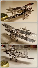 (BCooner) Tags: airplane model aricraft metalmodel triptychthatsht