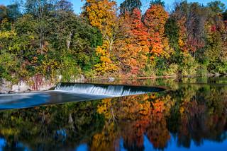 Fall Reflection at Paris Dam