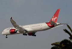 "Virgin Atlantic 787-900 Dreamliner ""Miss Moneypenny"" (G-VSPY) LAX Approach 3 (hsckcwong) Tags: lax 787 virginatlanticairlines missmoneypenny dreamliner virginatlanticairways 7879 787900 gvspy"