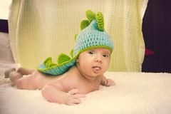 Ainhoa Dragoncito (Juanedc) Tags: baby verde green girl beautiful costume spain dragon zaragoza disfraz newborn aragon bebe hermosa saragossa lightblue beba celeste ainhoa draggon neonato valdespartera espaa nia