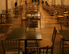 Top Floor (John Bense) Tags: yellow gold restaurant sitting chairs empty indoor tables kennedycenter