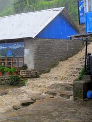 The way up (Py All) Tags: nepal house storm water rain stairs trek outside asia eau pluie trail asie maison pokhara extrieur annapurna escalier chemin orage heavyrain tikedhunga