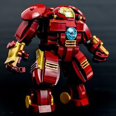 Ironman - Hulkbuster (Gzu's Bricks) Tags: man brick toys iron lego ironman tony buster hulk marvel stark avengers gzu 76031 mk44 gzubricks hulbuster