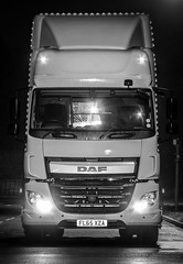 DAF 440 euro6 (deltic17) Tags: new nightphotography bulb truck canon long exposure nocturnal lorry artic dhl daf knowhow hgv