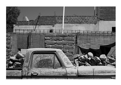 (gabrielagleizer) Tags: street old bw cars abandoned argentina rural village empty north dirt norte melancoly scilence