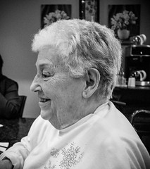 34 365 (Kelli Moskal Photographs) Tags: grandma portrait people blackandwhite portraits grandmother elderly