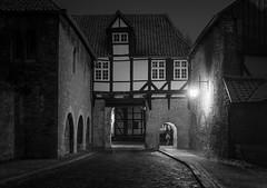 Torhaus des Klosters Riddagshausen (2) (Teelicht) Tags: winter architecture night germany deutschland nacht architektur braunschweig niedersachsen lowersaxony torhaus riddagshausen platinumheartaward
