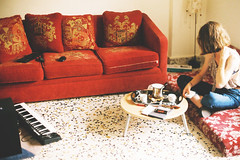(thisisthecity) Tags: lebanon film coffee girl analog 35mm photography living photo lomo lomography time tea room east exotic mm oriental middle beirut 35 terrazzo