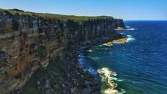 Sheer (24thcentury) Tags: ocean cliff coast pacific manly sydney australia northhead