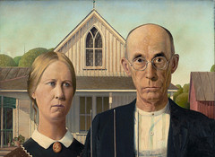 Grant Wood, American Gothic, 1930