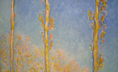 Monet, Poplars (detail), 1891