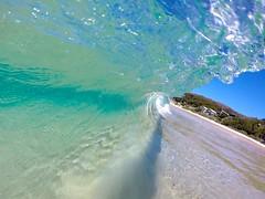 Wave Photography (i_charlie) Tags: blue sea beach water bay waves wave australia clear inside jervis